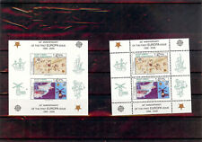 TURKISH CYPRUS 2006 50th Anniv. 1st EUROPA stamp (2 blocks, perforated and non)