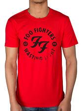 Official Mens Foo Fighters Wasting Light T-Shirt Medium Rare Skin and Bones Rock