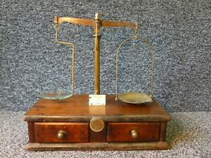 Antique Apothecary Beam Scales Maw London