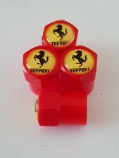 Ferrari Valve Capuchons Anti-Poussière Plastique Non stick toutes les voitures motos 7 Couleurs Rouge 355