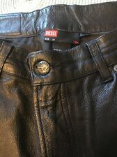 Diesel Leather Pants Men's Size 30