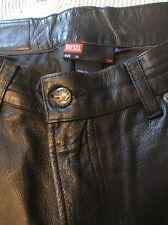 Diesel Leather Pants Men's Size 30