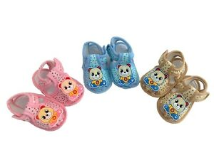 Baby Infant Girl Boy Crib Sandals Shoes Pink 0-6 6-12 12-18 Months