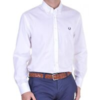 Camicia Fred Perry Uomo Men shirt  slim fit button down 9100