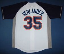 Justin Verlander Detroit Tigers Player Jersey White LRG - MLB