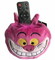 Support Peluche télécommande & Telephone Cheshire Alice Disney Disneyland Neuf