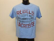 New Rebels Lacrosse graphic tee Youth Medium M Size 10-12 T-Shirt 67Fy