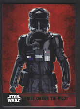 Topps Star Wars - The Force Awakens - Green Parallel Card # 23 FO TIE Pilot