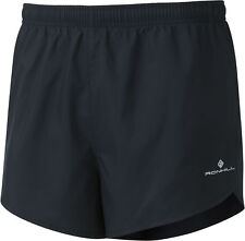 Ronhill Men's Everyday Split Shorts All Black Large
