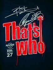 Hard Rock Cafe HONOLULU HAWAII USA SIGNATURE SERIES #27 THE WHO Unisex T-Shirt