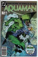 DC Comics Aquaman #2/4 Mini series 1986 VF+ 95 cent Canadian variant. Movie!