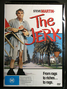 THE JERK (STEVE MARTIN) - DVD - BRAND NEW & SEALED - NTSC REGION 4