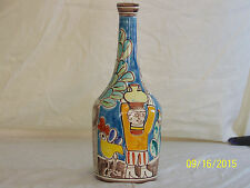 Desimone,Giovanni Hand Made Painted Italian Art Pottery Vase Signed Numbered