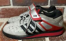 a584be71c55a Adidas PowerLift Trainer Gray Leather Weightlifting Gym Shoes - Men s Size  6.5