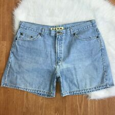 Zena Womens 16 Light Blue Denim Shorts