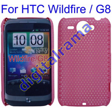 Case in PVC Ultra Slim Perforated Bulk Pink/Pink x HTC G8/Wildfire