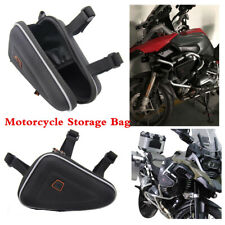 Triangle Storage Bag Tool Packbag For Motorcycle Engine Guard Protector Frame(Fits: 1985 CR125)