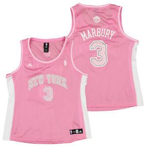 Adidas NBA Women's New York Knicks Stephon Marbury #3 Fashion Jersey, XL