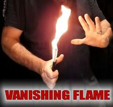 VANISHING FLAME PULL MAGIC FIRE VANISH TRICK MAGICIANS DISAPPEARING FLAMING WAND