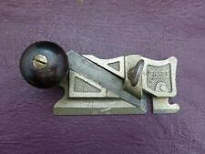 Old Tools - A patented Stanley No98 Side Rabbet Plane,