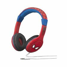 Marvel Spiderman Headphones Youth Headphones With Built In Volume Limiter New