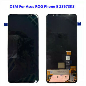 OEM For Asus ROG Phone 5 ZS673KS ROG 5 LCD Touch Screen Digitizer Assembly+Tools