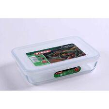 PYREX 241p0006146 Rectangular Dish and Lid 0.8 Litre