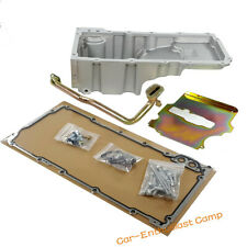 Aluminum Retro-fit Oil Pan For GM LS Engine LS1 LS6 LS2 LS3 4.8L 5.3L 6.0L 6.2L