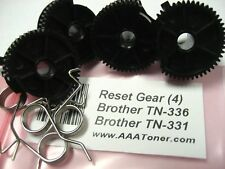4 x Reset Gear for Brother TN-336, TN-331, TN336 TN331 Toner Cartridge Refill