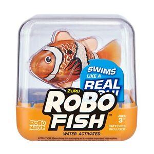 Zuru Robo Alive Robo Fish - 6 Colours Available - Electronic Pet - New