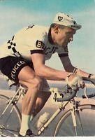 Carte postale VÉLO CYCLISME ROLF WOLFSHOL équipe PEUGEOT écrite