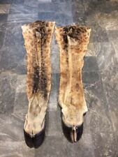 2 Giraffe Legs Feet Wet Tanned African Hides And Skins Taxidermy