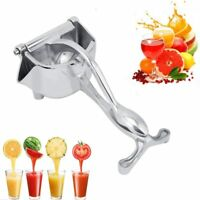 Stainless Aluminum Alloy Manual Fruit Press Squeezer,Household Fruit Juicer