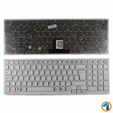 NEU VPC-EB42FX Sony Vaio Ersatz Notebook Tastatur weiß UK