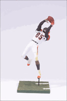 "MCFARLANE - NFL SERIES 9 – CHAD JOHNSON - CINCINNATI BENGALS – 6"" ACTION FIGURE"