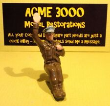 Britains 9784 8th Army Scout Car Reproduction Painted Plastic Passenger Officer