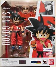 Bandai Tamashii Dragon Ball Z S.H. Figuarts Kid Son Goku Action Figure Toy New