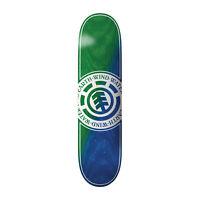 """Element Skateboard Deck Seal Green/Blue 8.0"""""""