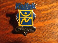 Kodak Special Olympics Lapel Pin - Vintage 1995 New Haven Connecticut World Game