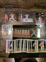 LOT OF (56) 2020 Topps Chrome Logan Allen Rookie Auto RC Indians +55 RC and 1sts