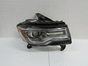 2014-2016 JEEP GRAND CHEROKEE FACTORY OEM RIGHT XENON HEADLIGHT NO AFS TESTED R1