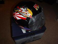 FM by Fimez Motorcycle Helmet MOD AXE BANZAI BLACK 60 cm Large Sylvester the cat