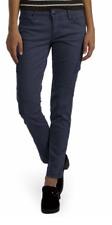 Unionbay Supplies Women's Blue Skinny Stretch Hiking Work Casual Cargo Pants