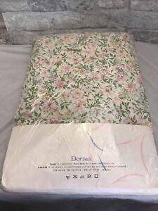 Vintage Dorma Double Valance Sheet, Floral Valance Sheet Vintage.