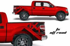 Vinyl Graphics Decal FX4 Off Road Wrap Kit for Ford Truck F150 09-14 Matte Black