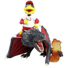 Fredbird St. Louis Cardinals Game of Thrones Mascot on Fire Dragon Bobblehead