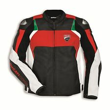 %SALE% Ducati 9810373 Lederjacke Motorrad Racing Sport Leather Jacket CORSE C3