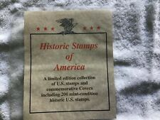 Historic Stamps of America, New Mint, 41 Stamps w/Covers