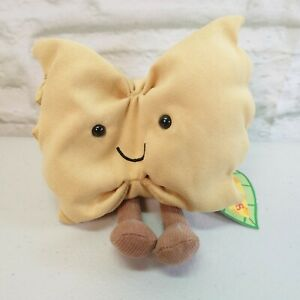 NEW Jellycat Amuseable Farfalle Pasta Soft Toy Comforter Quirky BNWT