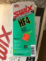 Swix Wax HF4 Wax 180 grams Green High Fluoro